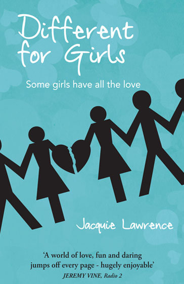 Different For Girls book cover - published by Zitebooks