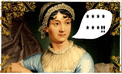 Jane Austen swears