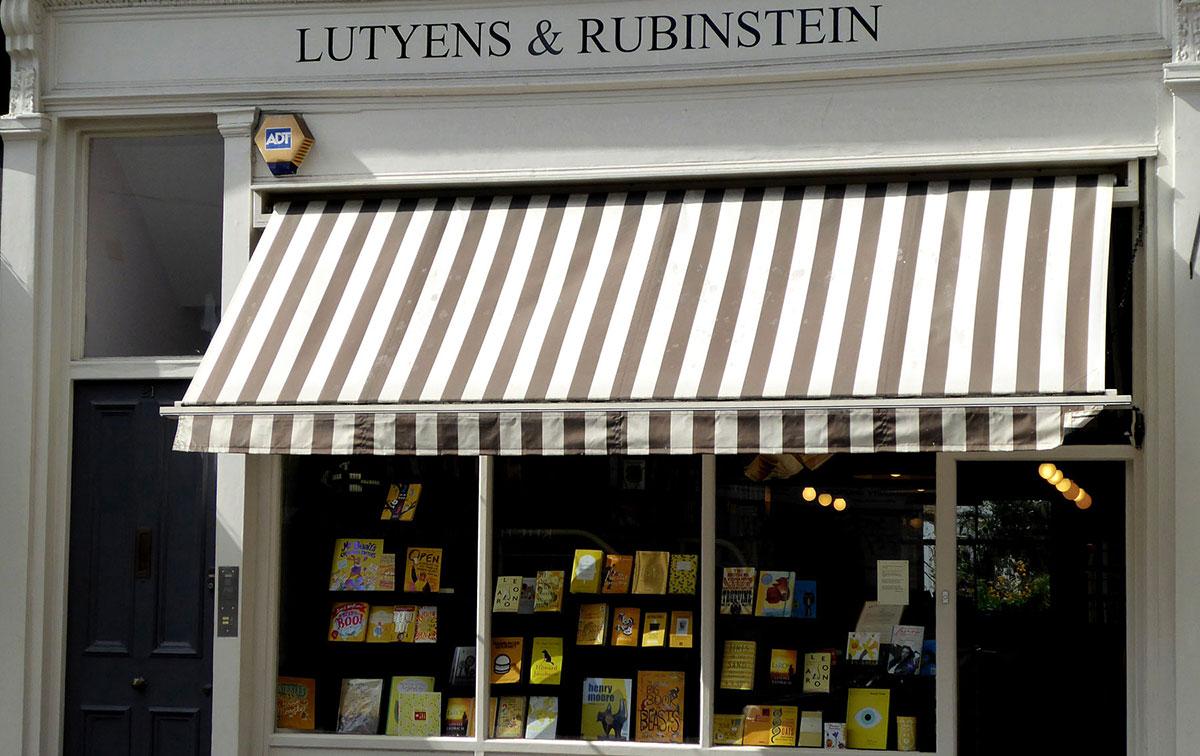Lutyens and Rubinstein Independent bookshop